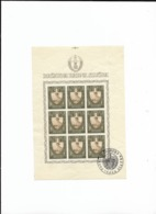 1943 MNH/USED Croatia Sheets Michel 94-96 - Croazia