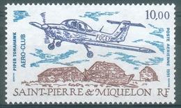 "Saint Pierre And Miquelon, Aircraft ""Piper Tomahawk"", 1991, MNH VF - Airmail"
