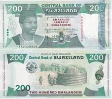 Swaziland - 200 Emalangeni 1998 UNC Comm. Lemberg-Zp - Swaziland