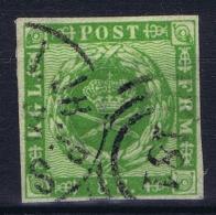 Denmark : Mi Nr 3 Obl./Gestempelt/used   1857 - 1851-63 (Frederik VII)