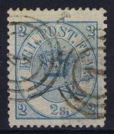 Denmark : Mi Nr 11A   Fa 11   Obl./Gestempelt/used   1864 - 1864-04 (Christian IX)