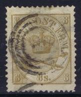 Denmark : Mi Nr 14A   Fa 14   Obl./Gestempelt/used   1864 - 1864-04 (Christian IX)