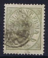 Denmark : Mi Nr 15A   Fa 15   Obl./Gestempelt/used   1864 - 1864-04 (Christian IX)