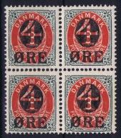 Denmark : Mi Nr 40 Inverted Watermark 2x Postfrisch/neuf Sans Charniere /MNH/** 2x MH/* Flz/ Charniere - Nuovi