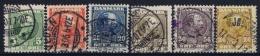 Denmark : Mi Nr 47 - 52 Obl./Gestempelt/used  1904 - 1864-04 (Christian IX)