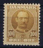 Denmark : Mi Nr 59 Fa 75 MH/* Flz/ Charniere  1907 - Ungebraucht