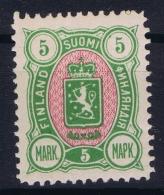 Finland : Mi Nr 33  Fa 25 MH/* Flz/ Charniere 1889 - Unused Stamps