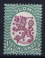 Finland : Mi Nr 120 Xa K 14,25 X 14 Postfrisch/neuf Sans Charniere /MNH/** 1925 - Nuovi