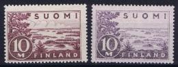Finland : Mi Nr 156 I + IIa Postfrisch/neuf Sans Charniere /MNH/** 1930 - Nuovi