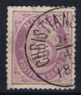 Norway : Mi Nr 28  Fa 30 Obl./Gestempelt/used  1877 - Used Stamps