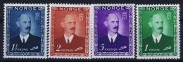 Norway : Mi Nr 315 - 318  Fa 352 - 355   Postfrisch/neuf Sans Charniere /MNH/** 1946 1 Kr Spot Signed - Norwegen