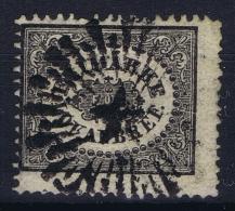 Sweden : Mi Nr 6  Fa 6 Obl./Gestempelt/used  1856 - Schweden