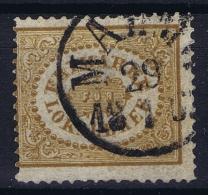 Sweden : Mi Nr 13  Fa 13 Obl./Gestempelt/used  1862 - Sweden