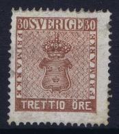 Sweden : Mi Nr 11  Fa 11 MH/* Flz/ Charniere  1858 - Schweden