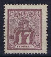 Sweden : Mi Nr 15a  Fa 15 MH/* Flz/ Charniere  1866 Signed/ Signé/signiert - Schweden