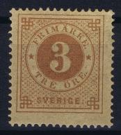 Sweden : Mi Nr 17A  Fa 17 MH/* Flz/ Charniere  1872  K14 Perfo - Schweden