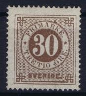Sweden : Mi Nr 23A  Fa 25 Postfrisch/neuf Sans Charniere /MNH/**  Signed/ Signé/signiert - Schweden