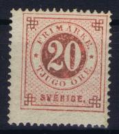 Sweden : Mi Nr 20A  Fa 23 MH/* Flz/ Charniere  K14 - Schweden