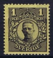 Sweden : Mi Nr 62  Fa 77 MH/* Flz/ Charniere 1911 - Schweden