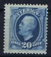 Sweden : Mi Nr 45a  Fa 56  MH/* Flz/ Charniere  1891 Signed/ Signé/signiert - Ongebruikt