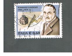 ITALIA REPUBBLICA  -   2008    T. LANDOLFI          -   USATO  ° - 6. 1946-.. República