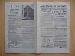 WWII WW2 Tract Flugblatt Propaganda Leaflet In French, EH(F).50/3, Le Courrier De L'Air, No. 3, 26 Janvier 1941 - Oude Documenten