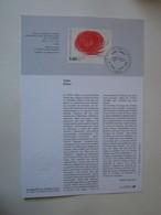 Timbre Premier Jour - 1993 Takis Grèce - Stamps