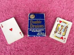 32 Cartes à Jouer  Double Dragons - 32 Cartes