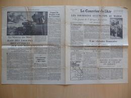 WWII WW2 Tract Flugblatt Propaganda Leaflet In French, EH(F).50/5, Le Courrier De L'Air, No. 5, 10 Mars 1941 - Oude Documenten