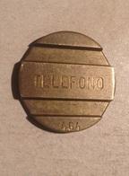 TOKEN JETON GETTONE ARGENTINA TELEPHONE TELEFONO 464 - Monétaires / De Nécessité