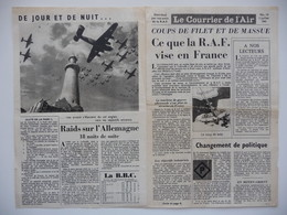 WWII WW2 Tract Flugblatt Propaganda Leaflet In French, EH(F).50/14, Le Courrier De L'Air, No. 14, 3 Juillet 1941 - Oude Documenten