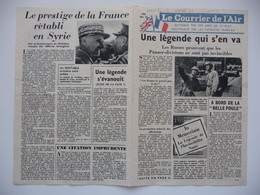 WWII WW2 Tract Flugblatt Propaganda Leaflet In French, EH(F).50/19, Le Courrier De L'Air, No. 19 - Vieux Papiers