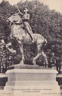 Statue De Jeanne D'Arc, Offerte Par L'Amérique à La Ville De Blois - Blois