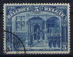 Belgium: OBP Nr 147  FRANKEN Obl./Gestempelt/used  1915 - 1915-1920 Albert I