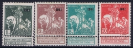 Belgium: OBP Nr 93 - 99 MH/* Flz/ Charniere 1911 - 1910-1911 Caritas