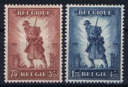 Belgium: OBP Nr 351 - 352 MH/* Flz/ Charniere  1932 - Belgique