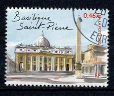 2002 N 3530 BASILIQUE ST PIERRE ROME OBLITERE CACHET ROND #227# - France