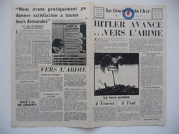 WWII WW2 Tract Flugblatt Propaganda Leaflet In French, EH(F).50/28, Le Courrier De L'Air, No. 28 - Oude Documenten