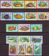 TUVALU 1979 SG #105-22 Part Set Used Only 45c Missing Fishes - Tuvalu