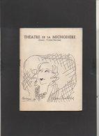 """Programme 1960 Théatre De La Michodière """"Gog Et Magog"""" Comédie De Roger Mac Dougall Et Ted Allan (Photos D'Artistes Et ) - Programs"""