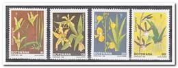 Botswana 1989, Postfris MNH, Flowers, Orchids, Christmas - Botswana (1966-...)