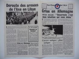 WWII WW2 Tract Flugblatt Propaganda Leaflet In French, EH(F).50/38, Le Courrier De L'Air, No. 38 - Oude Documenten