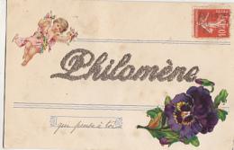 PHILOMENE     ECRIT EN PAILLETTES - Prénoms