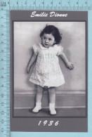 """Les Quintuplées Dionne # 62 -  Photo De """" Emilie"""" à L'age De 2 Ans En 1936,  Fillette, Reproduction - Portraits"""