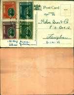 8813a) Cartolina Con 4 Valori - Zanzibar (1963-1968)