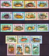 TUVALU 1981 SG #O1-O19 Compl.set Official Used - Tuvalu