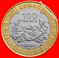 Central Africa, 100 CFA Francs 2006 - Centrafricaine (République)