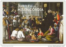 Portugal Entier Postal 2016 Jubilé Misericordia Peinture Saint Francois Xavier A Goa Stationery Table St. Francis Xavier - Gemälde