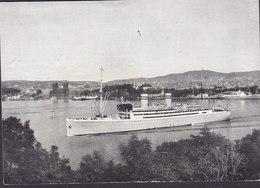 Norway PPC Norwegian Amerika Line TSS 'STAVANGERFJORD' Abstract Of Log Voyage No. 1 1954 (2 Scans) - Norwegen