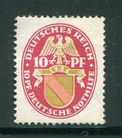 ALLEMAGNE EMPIRE- Y&T N°391- Neuf Sans Gomme - Allemagne